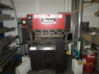 HYDRAULIC PRESS BRAKE AMADA CN - IT 25 T / 1200