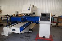 CNC PUNCHING TRUMPF TC 2000 ROTATION